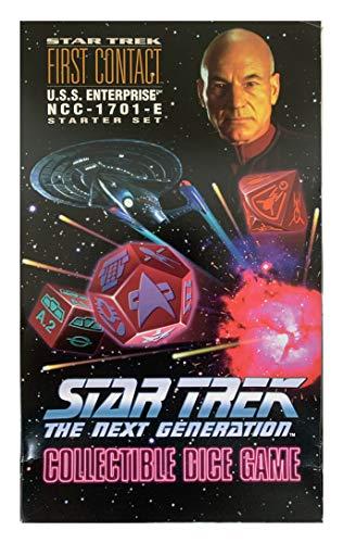Star Trek the Next Generation Collectable Dice Game U.S.S. Enterprise NCC-1701E Starter Set
