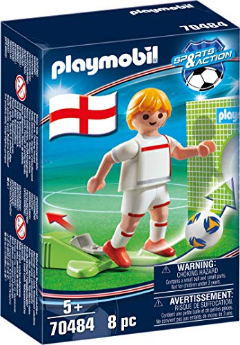 Futbolista Inglaterra Playmobil (70484)