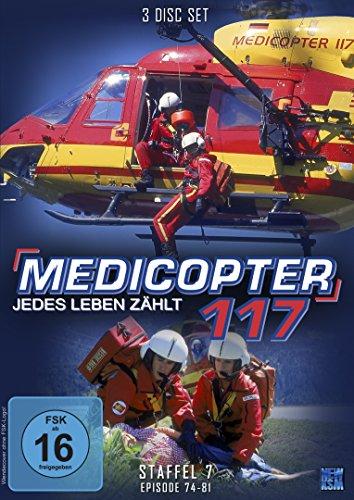 Medicopter 117 - Staffel 7: Folge 74-81 [4 DVDs]