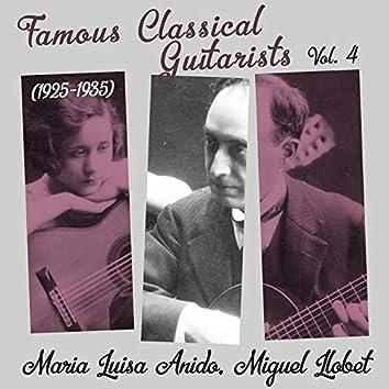 Famous Classical Guitarists, Vol. 4 (1925 - 1935)