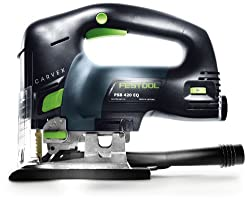 The PSB 420 EBQ by Festool - The best professional jigsaw for a woodworking workshop