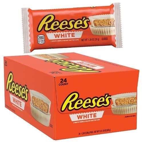 Reeses Peanut Butter Cup – babeczki z masłem orzechowym i białą czekoladą: 24 sztuki (24 x 39 g)