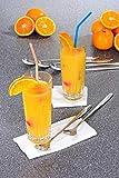 GRÄWE Latte Macchiato Löffel Set, 6-teilig, 22 cm - Lange Löffel für Cocktails & Desserts, Edelstahl poliert, spülmaschinengeeignet - 4