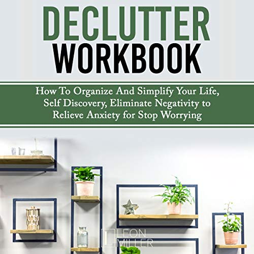 Declutter Workbook audiobook cover art