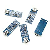 SenMod 5pcs TP4056 5V 1A Lithium Battery Charging Board Charger Module DIY Project