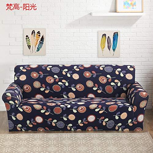 Bankovertrek, elastische bankovertrek, antislip, voor handdoeken, met decoratieve meubels ter bescherming van de bank, elastisch, voor thuis.
