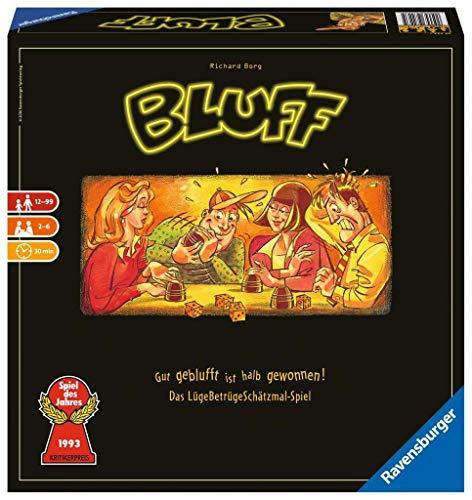 Bluff: Gut geblufft ist halb gewonnen! Das LügeBetrügeSchätzmal-Spiel