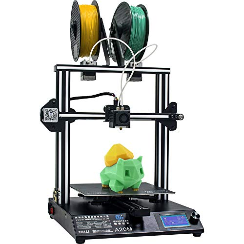 3D Printer,GIANTARM GEEETECH A20M 3D Printer,Mix-Color,With 2 Extruders,Quick Assembly 250 * 250 * 250 mm³, Wide Printing Area