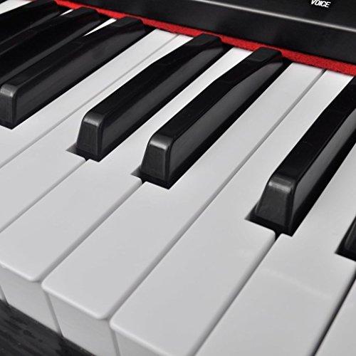 vidaXL Klassische Elektro 88-Tasten Digital Piano E-Piano Keyboard Klavier Notenablage - 6