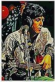 FEGASDF Paul McCartney Poster Dekorative Malerei Leinwand