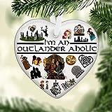 I'm Outlander Aholic Ornament Accents, Ornaments Christmas, Decor Christmas, Home Living Home Decor