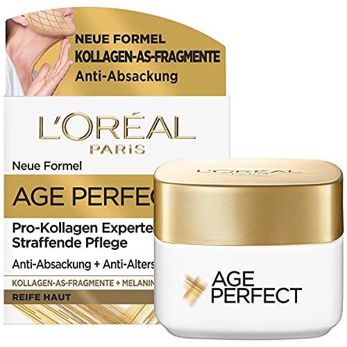 L'Oréal Paris Straffende Tagespflege für reife Haut, Anti-Aging Feuchtigkeitspflege gegen...