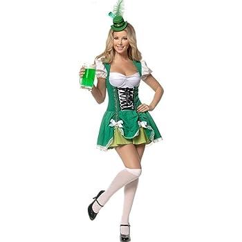 señoras Aimerfeel irlandés traje de criada cerveza del traje del ...