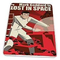 マウスパッド ゲーミングマウスパッド-マーク・ゴダードはフアン・オルティスによって宇宙で失われているアートプリント滑り止め デスクマット 水洗い 25x30cm