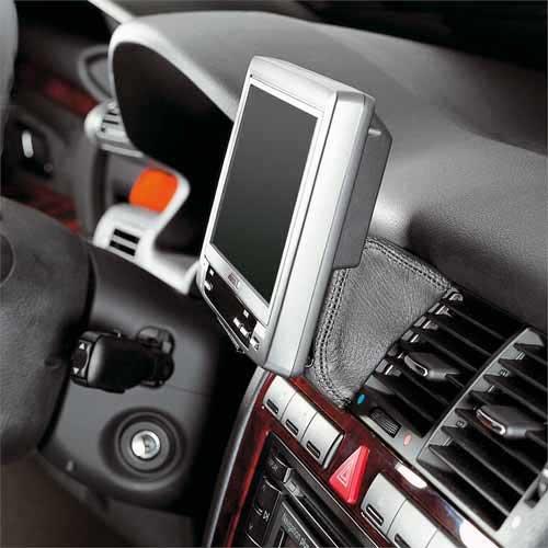 KUDA 293055 Halterung Kunstleder schwarz für Audi A8/S8 (D2/4D) ab 1994 bis 11/2002