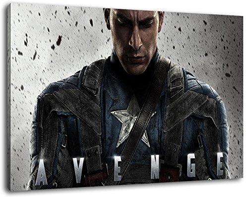 Marvel Helden Format 120x80 cm Bild auf Leinwand, XXL riesige Bilder fertig gerahmt mit Keilrahmen, Kunstdruck auf Wandbild mit Rahmen