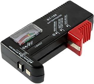Analoge Batterij Tester Batterij Checker voor AA AAA C D 9V 1.5V Knop Celbatterijen BT-168