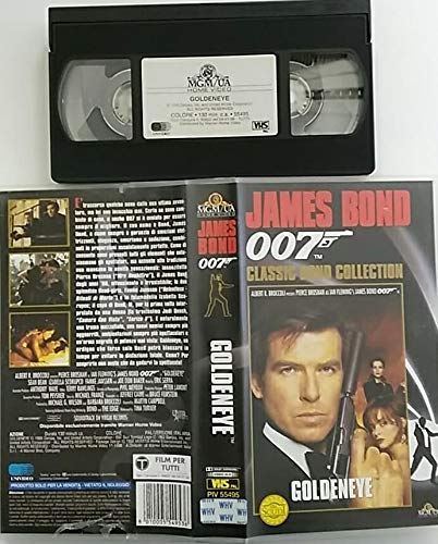 Agente 007 - Golden eye (Classic Bond Collection) [VHS]