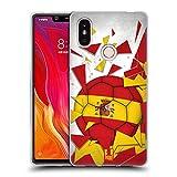 Head Case Designs España Saltos de Fútbol Carcasa de Gel de Silicona Compatible con Xiaomi Mi 8 SE