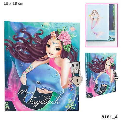 Fantasy Model Tagebuch mit Schloss Motiv 1, Delfin Depesche Biz TOP Model