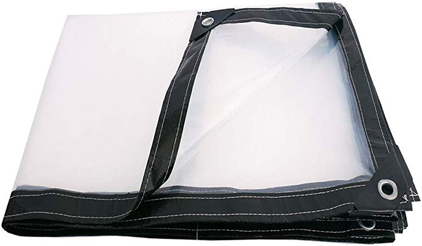 XRFHZT Tissu en Plastique Transparent épais en Plastique de Prougeection Solaire imperméable,3mx8m