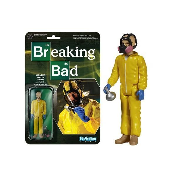 Funko Breaking Bad Walter White Cook Reaction 3 3/4-Inch Retro Action Figure by 1
