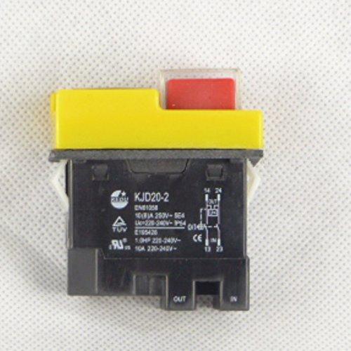 Inovey Kjd 6 Interruptor Universal De Repuesto 250V 4A Nvr Interruptor Interruptor De Parada De Emergencia