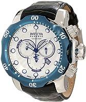 インヴィクタ Invicta Men's 10781 Venom Reserve Chronograph Silver Textured Dial Watch [並行輸入品]