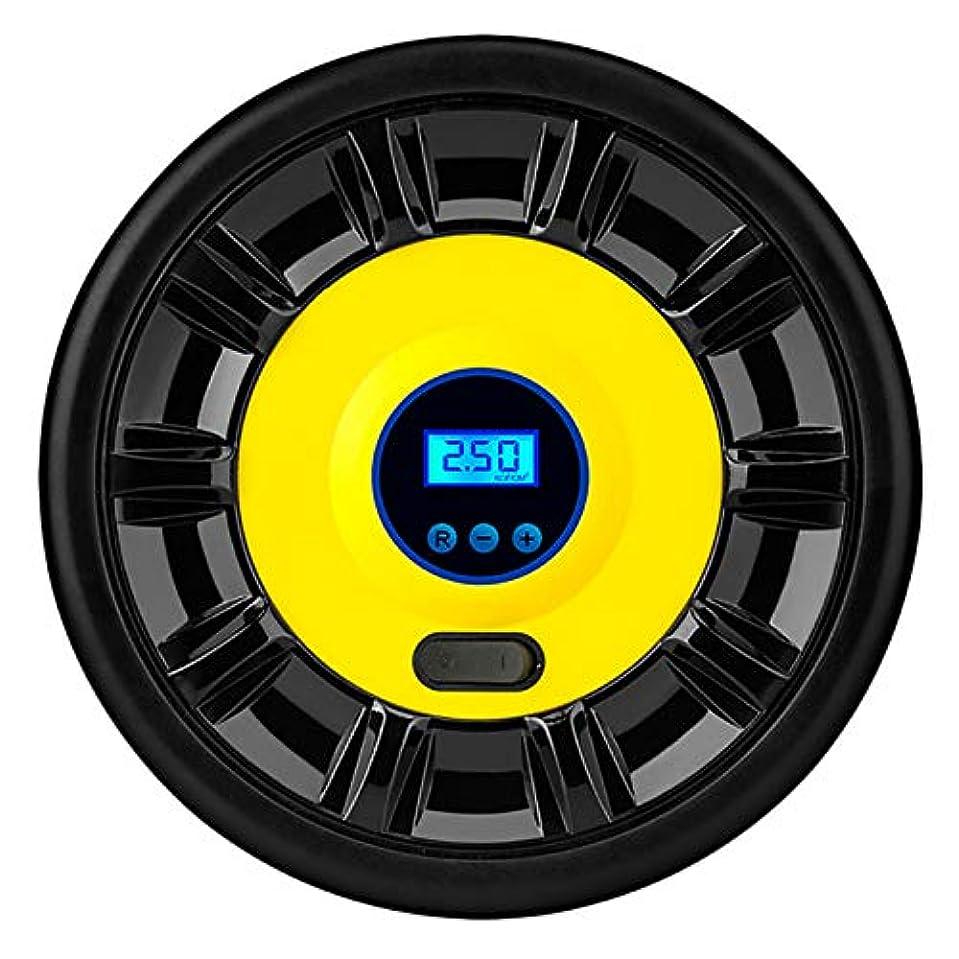 アトラス会計士過剰TOOGOO デジタルタイヤインフレータDC 12V車の携帯用空気圧縮機ポンプ100 Psi車用コンプレッサー、車オートバイ自転車用