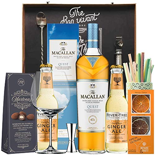 comprar whisky macallan quest on-line