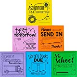 Really Good Stuff School to Home Sticky Note Reminders 6 Pack 600 Pages