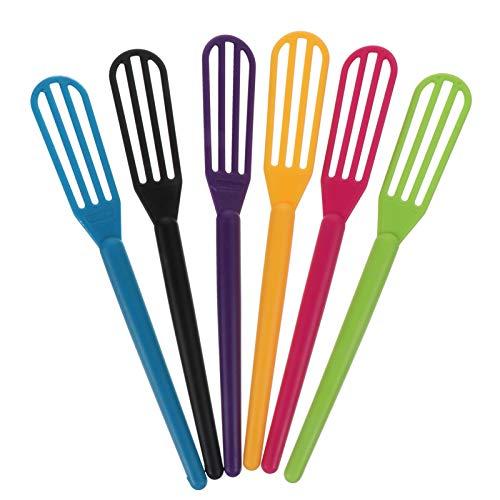 FRCOLOR 6 Unids Tinte de Color de Cabello Batidor de Crema Mezclador Agitador para Coloración Del Cabello Accesorios de Peluquería Salón