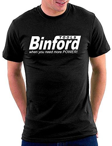 Binford Tools T-shirt, Größe XXL, Schwarz