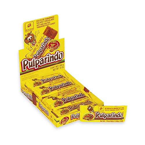 De La Rosa Candy Bar Pulparindo Rglr 20 ct