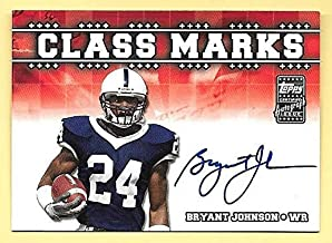 2003 Topps DP&P Class Marks #BJ Bryant Johnson On Card Autograph PENN STATE