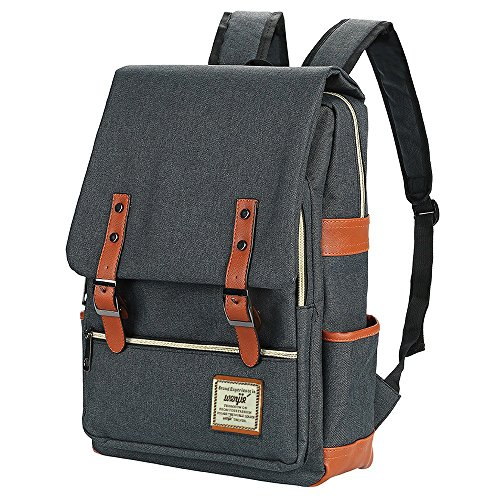Canvas Backpack - school backpack,Lightweight Laptop...