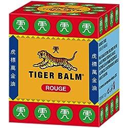 Crema tailandesa Tiger Balm para aliviar el dolor