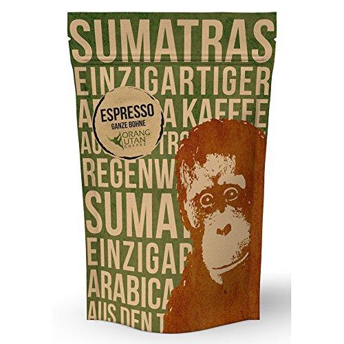 Orang-Utan Sumatra Arabica Espresso Bohne 500 g
