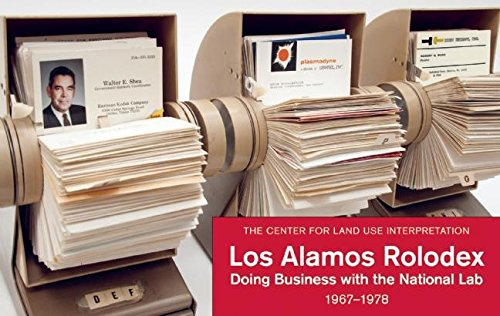 Los Alamos Rolodex Doing Business With The National Lab 1967 1978