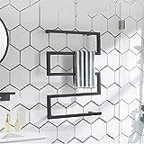 XSGDMN Toalla Calentador eléctrico, toallero Blanco Recto radiador toallero Calentador de Toallas radiador de calefacción, Curvado Negro Mate, 31.5x23.6 Pulgadas,Plug in