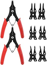 Easier to Replace Multifunctional 2pcs Steel Snap Ring Plier, Plier, Machinery Industry for Vehicle Manufacturing