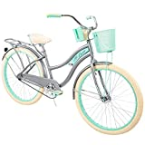 Huffy, Nel Lusso Classic Cruiser Bike Frame, Women's, Gray, 26""