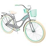 Huffy, Nel Lusso Classic Cruiser Bike Frame, Women's, Gray, 26'