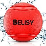 BELISY Hundeball für besonders hohen Spiel Spaß I Robustes Hundespielzeug