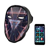 Led Mask with Rechargeable Bluetooth App...