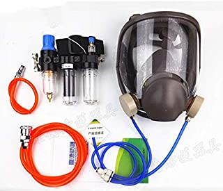 3 in 1 Chemcial Function Supplied Air Fed Safety Respirator System With 6800 Full Face industry Gas Mask