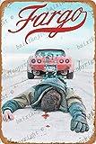 Cimily Fargo Movie Poster II Zinn Retro Zeichen Vintage