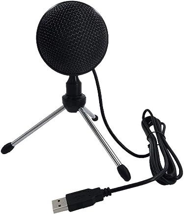 KEIBODETRD Microfono per Computer USB Microfono a condensatore omnidirezionale Portatile per la Registrazione di Videogiochi - Trova i prezzi più bassi