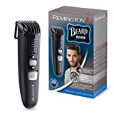 Remington Beard Boss MB4120 Barbero, Inalámbrico, Cuchillas Acero Inoxidable, Funciona con Pilas, Negro