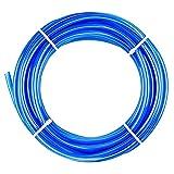 XianzhanEU - Manguera neumática de 20 m, 6 mm, exterior de 4 mm, interior de poliuretano, neumática, para varias herramientas neumáticas (azul)